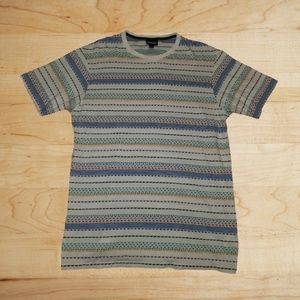 Patagonia Organic Cotton Embroidered Striped Shirt